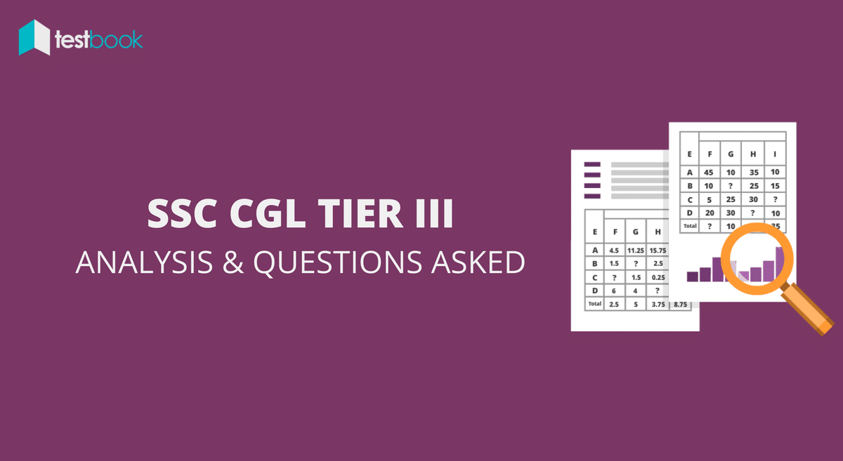 Descriptive Paper SSC CGL Tier 3 Analysis and Questions Asked 19th March 2017