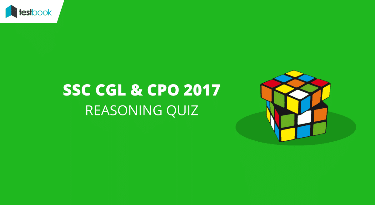 List of SSC Reasoning Quiz for CGL Tier I 2017