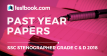 SSC Stenographer Past Year Papers - Testbook