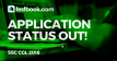 SSC CGL Application Status - Testbook