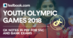 Youth Olympic Games 2018 - Testbook