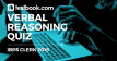Verbal Reasoning Quiz 1 for Banking - Testbook