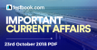 Current Affairs 23rd October 2018 - Testbook