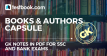 Books and Authors Current Affairs - Capsule in PDF - Testbook