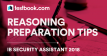 IB Security Assistant Reasoning - Testbook