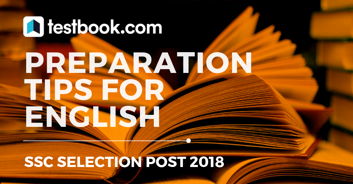 English for SSC Selection Post - Testbook