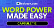 Word Power Made Easy PDF Capsule 112 - Testbook