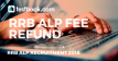 ALP Fee Refund - Testbook