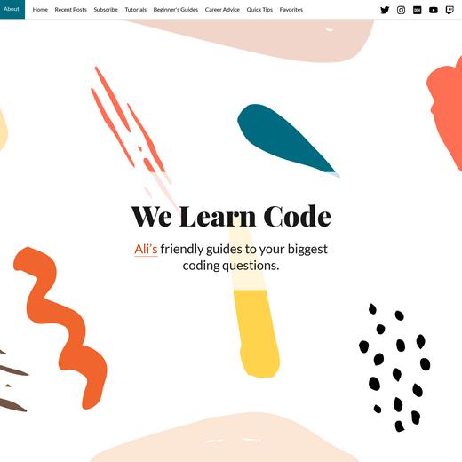 We Learn Code