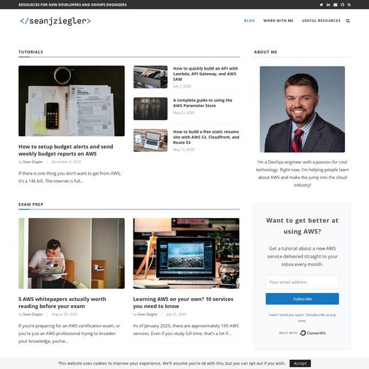 Sean Ziegler's Blog