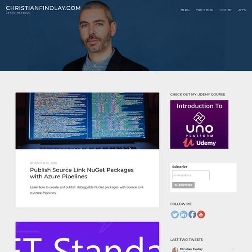 Christian Findlay's Blog