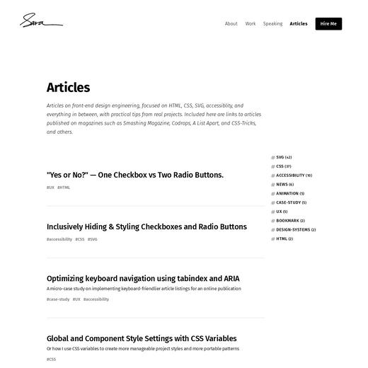 Sara Soueidan's Blog