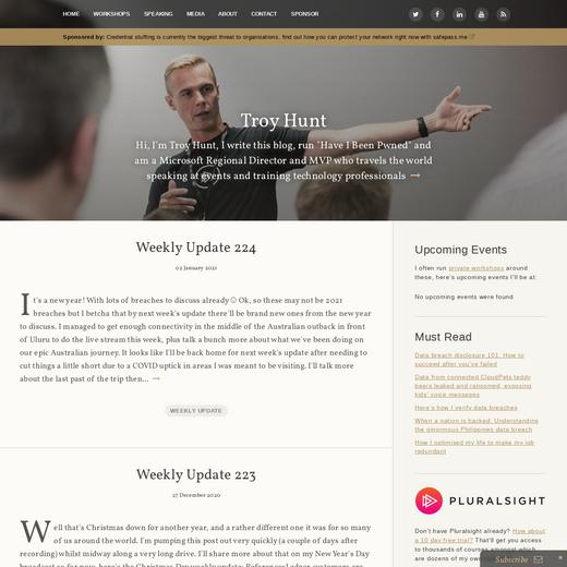 Troy Hunt's Blog