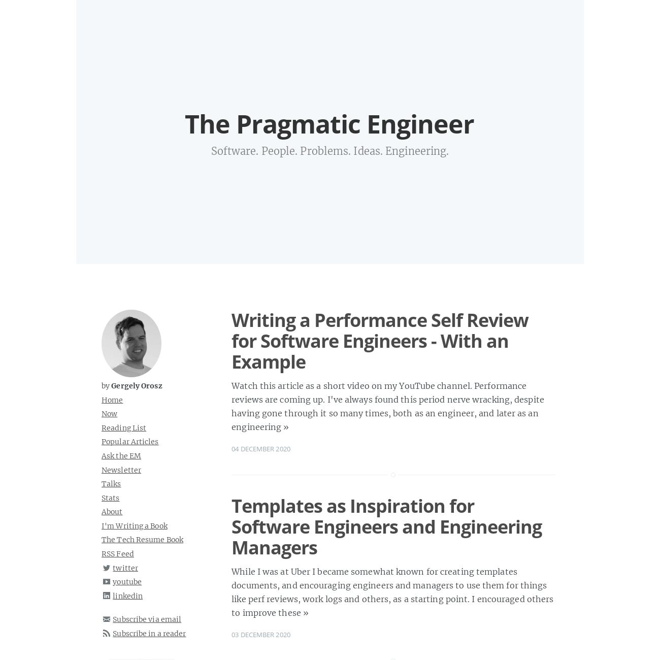 The Pragmatic Engineer