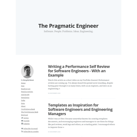 The Pragmatic Engineer