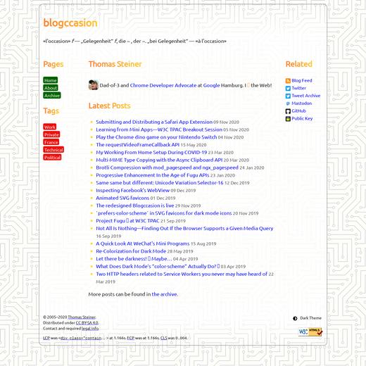 Blogccasion