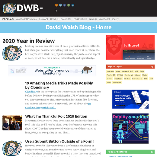 David Walsh's Blog