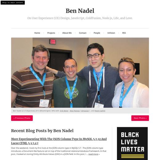 Ben Nadel's Blog