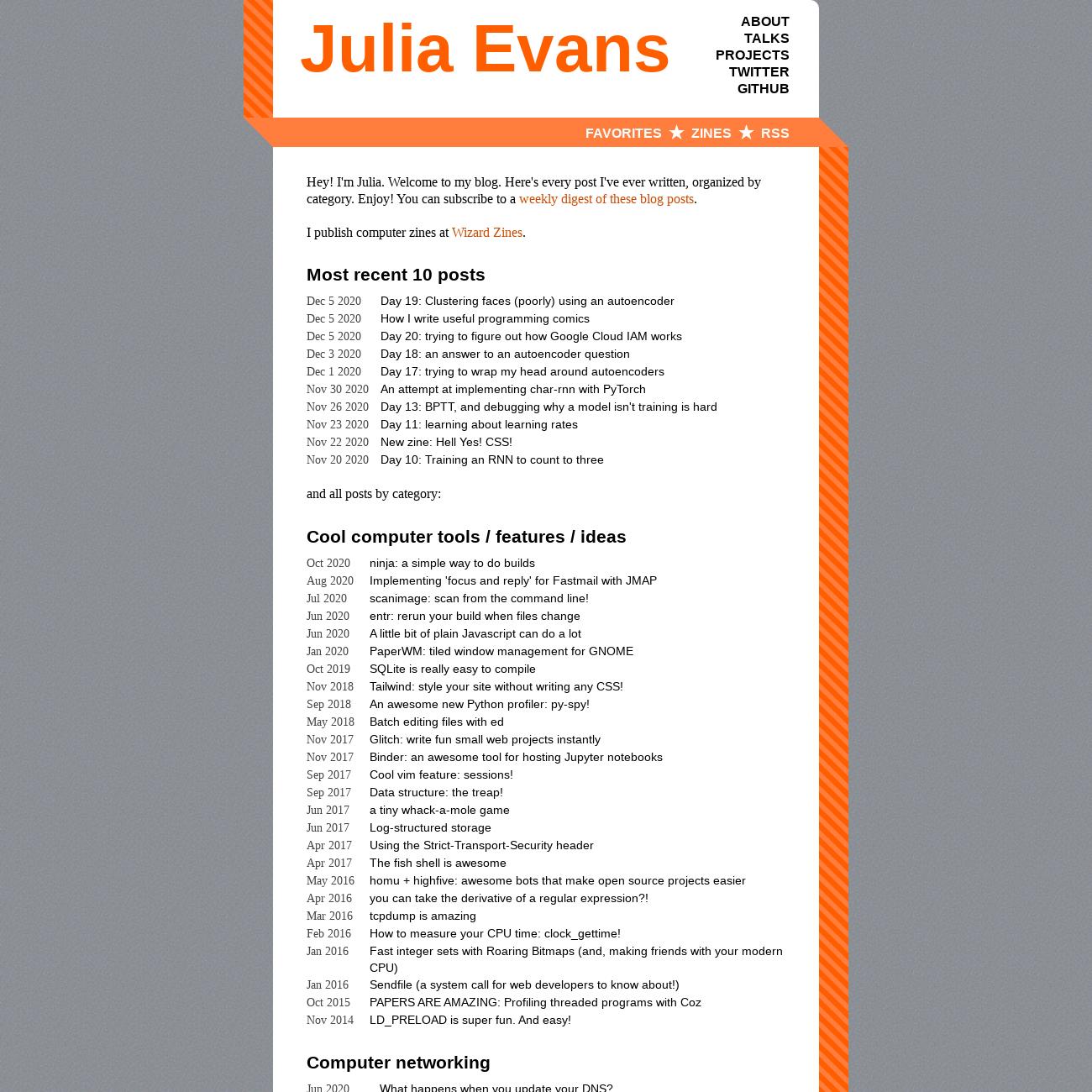 Julia Evans' Blog