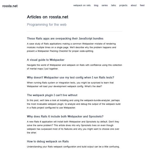 Ross Kaffenberger's Blog