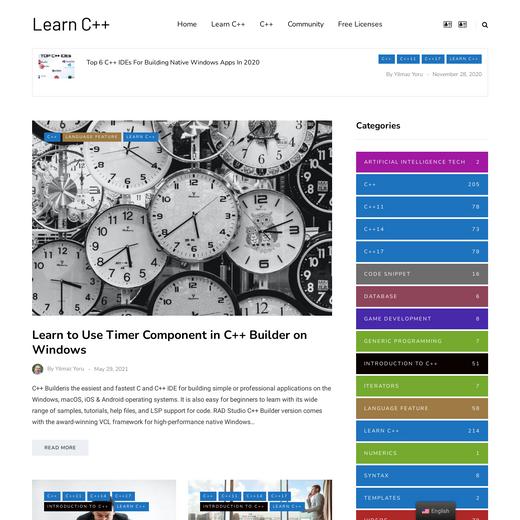 Learn C++ by Yilmaz Yoru