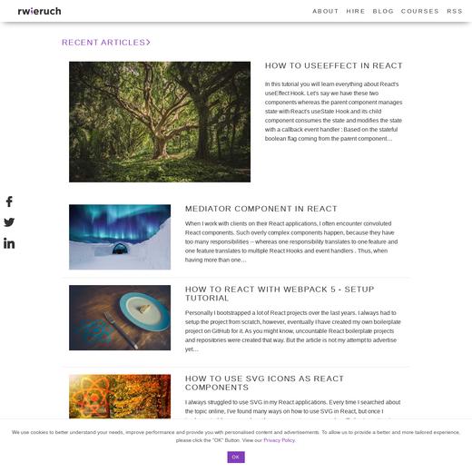 Robin Wieruch's Blog