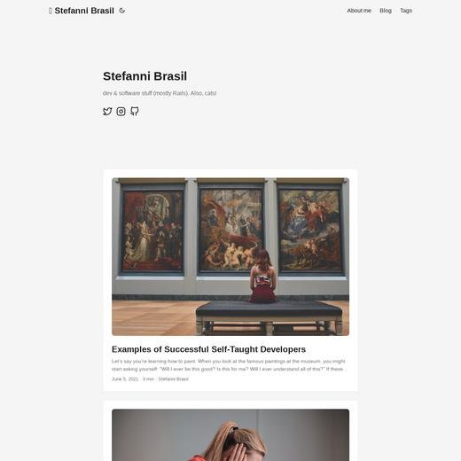 Stefanni Brasil's blog