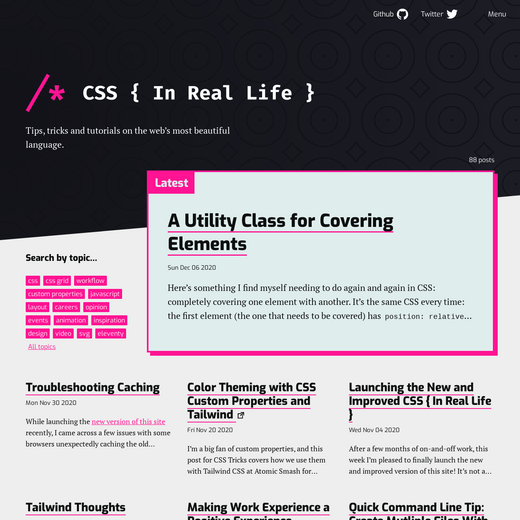 CSS { In Real Life }
