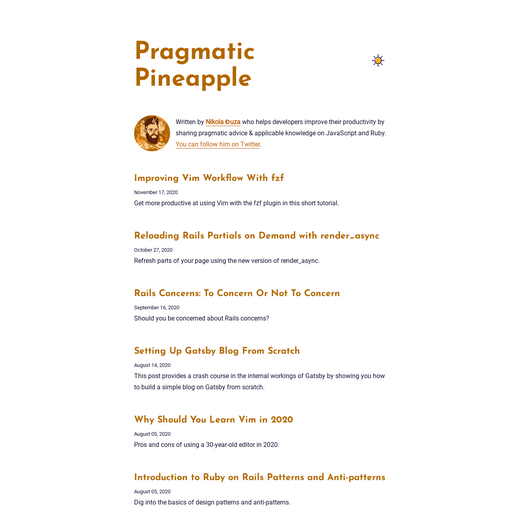 Pragmatic Pineapple