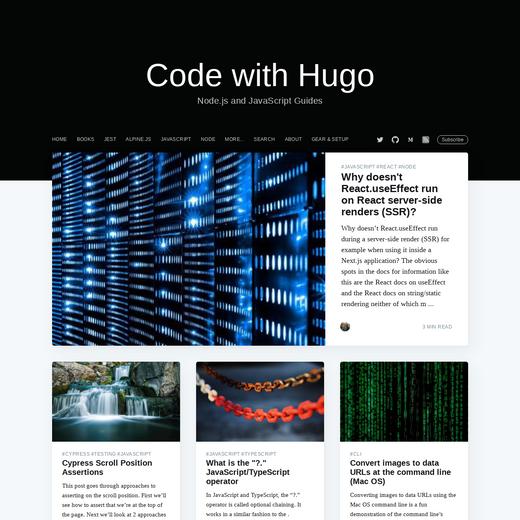 Code with Hugo