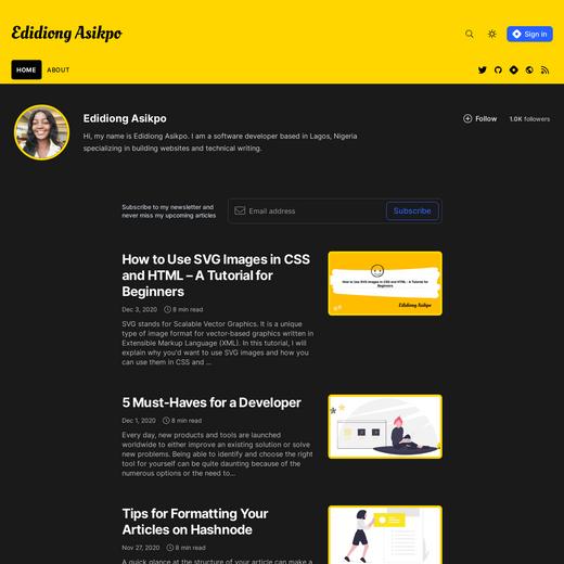 Edidiong Asikpo's Blog