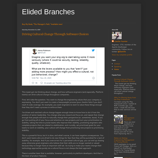 Elided Branches