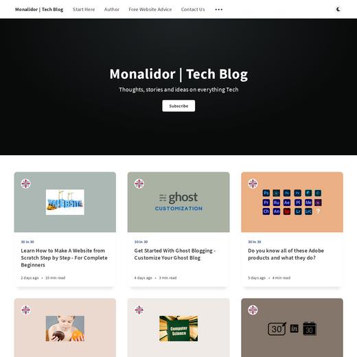 Monalidor | Tech Blog