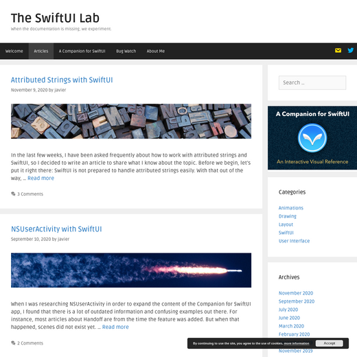 The SwiftUI Lab