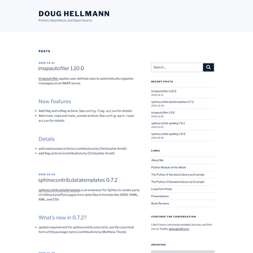 Doug Hellmann's Blog