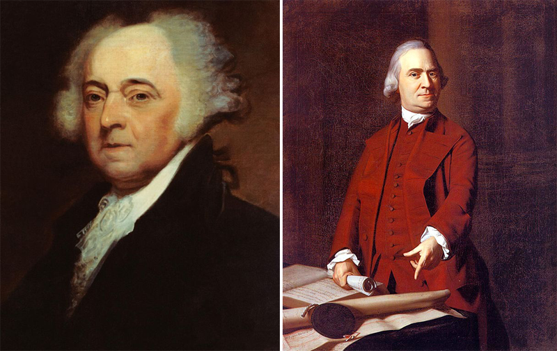 John Adams Samuel Adams