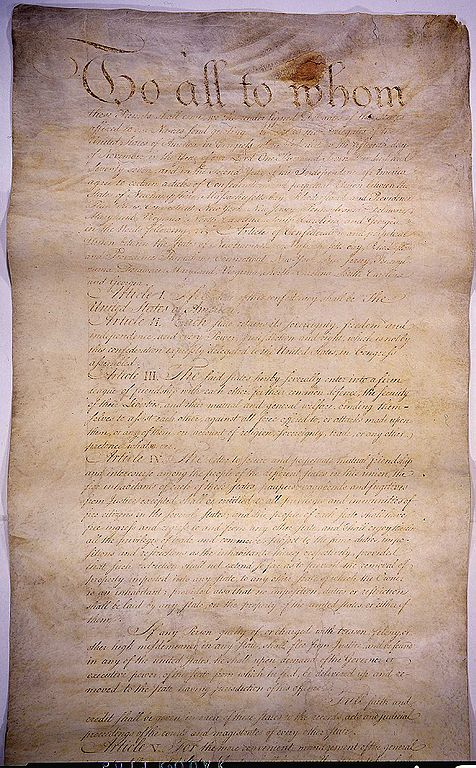 Articles Confederation