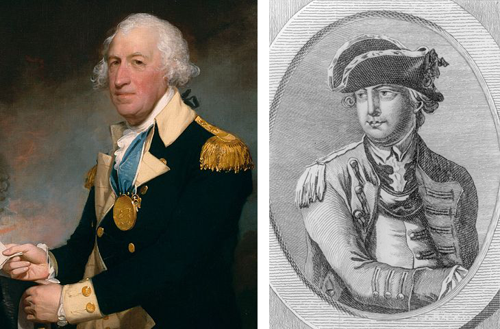 Horatio Gates Charles Lee george washington