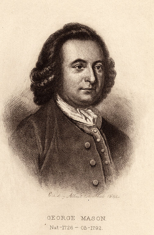 Print  George Mason Virginia
