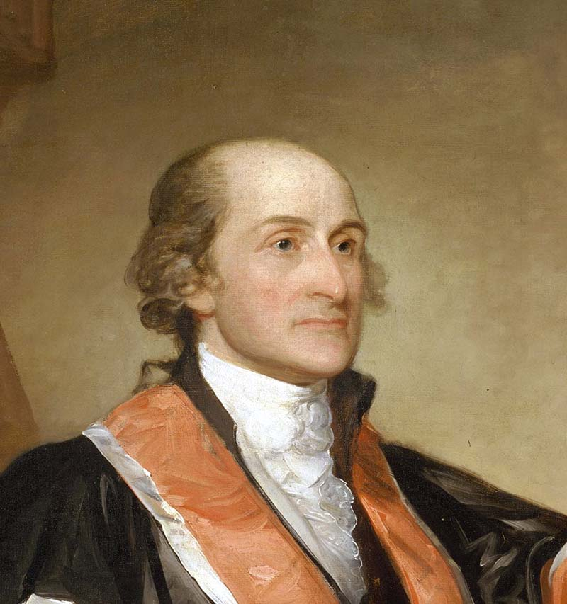 Retrato John Jay Gilbert Stuart