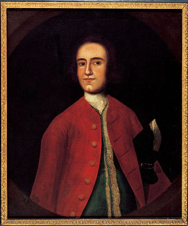 Portrait Lawrence Washington older half brother George Washington