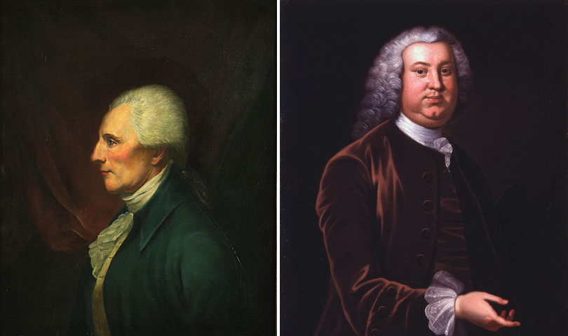 Richard Henry Lee friends George washington Peyton Randolph