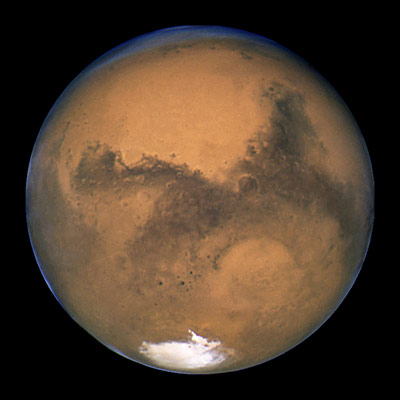 surface Mars southern polar cap atmosphere