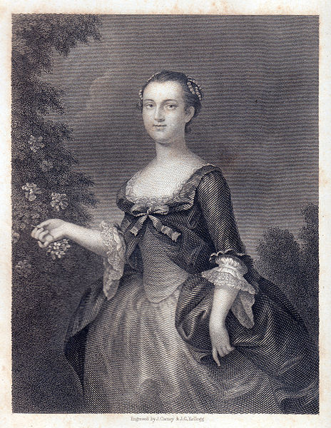 Martha Custis Washington young