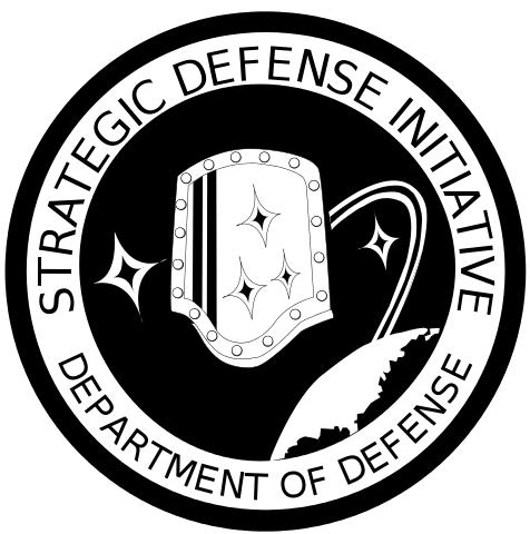 logo Iniciativa Defensiva Estrategica Star Wars