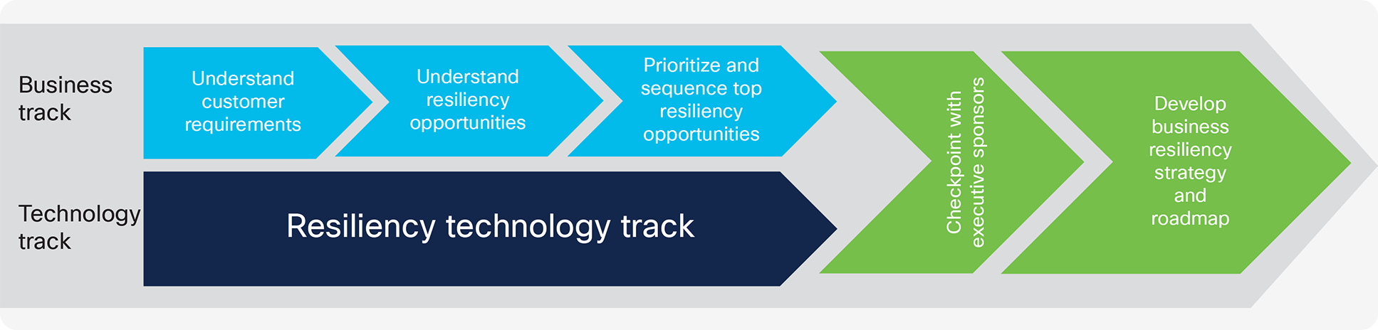 CX offer for Business Resiliency Strategy and Roadmap Technology Track