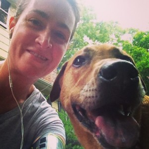 Training for the 5k with my coach. Join us!
