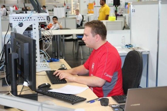 Jean-Philippe competes at WorldSkills 2013 in Leipzig, Germany