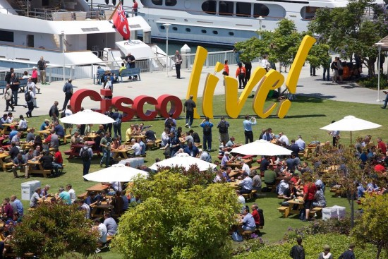 More than 25,000 people attended Cisco Live US 2015 in San Diego, California.