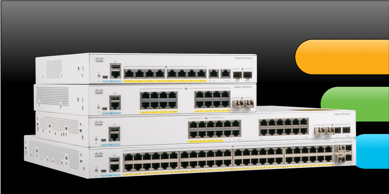 Cisco introduces new Catalyst 1000 Series of switches